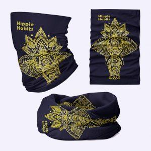 Hippie Habits - chusta wielofunkcyjna - komin - joga, yoga - fitness - sportswear