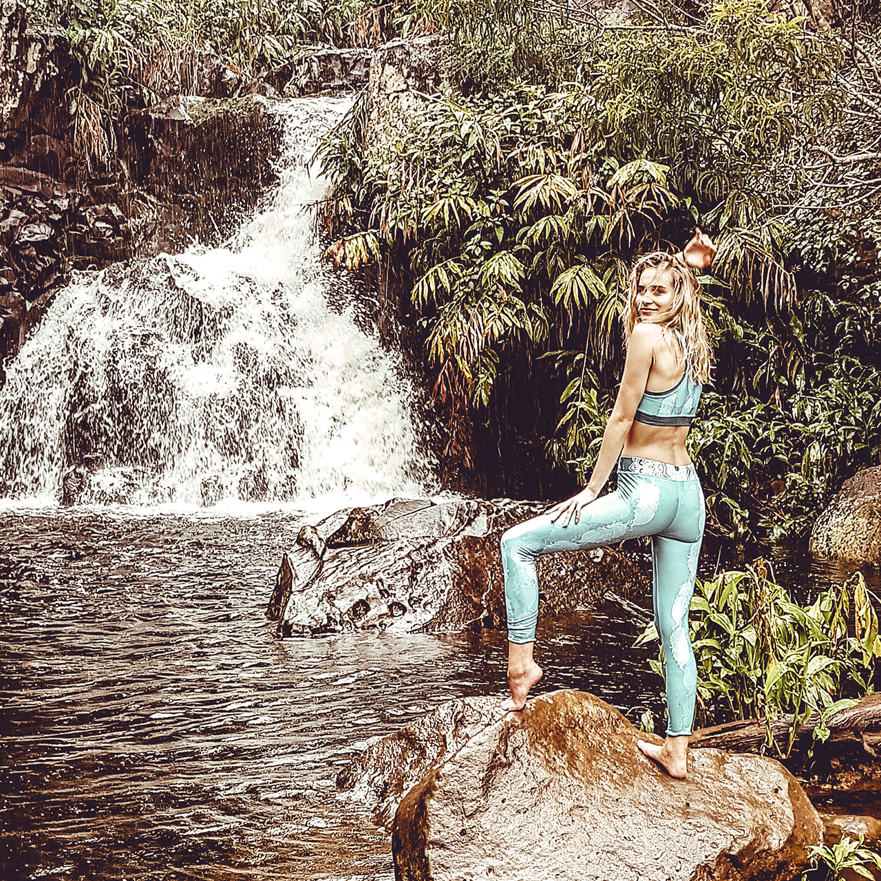 Hippie Habits – Mint Wings –  joga, yoga – fitness – sportswear