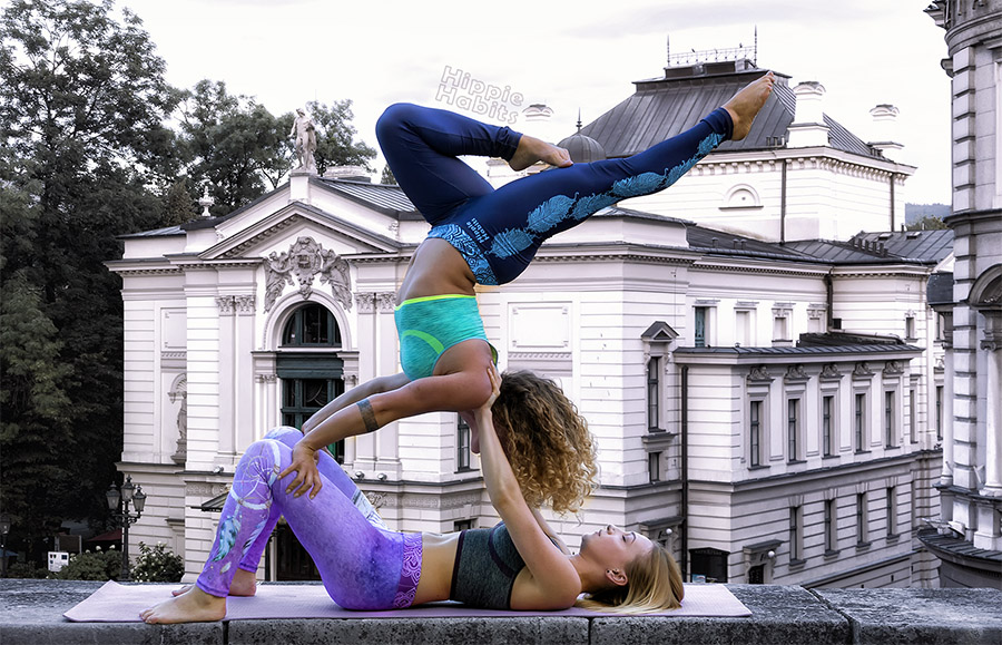 Hippie Habits – Blue Wings –  joga, yoga – fitness – sportswear