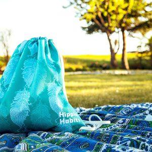 Hippie Habits - Minty Wings - plecak, worek - joga, yoga - fitness - sportswear