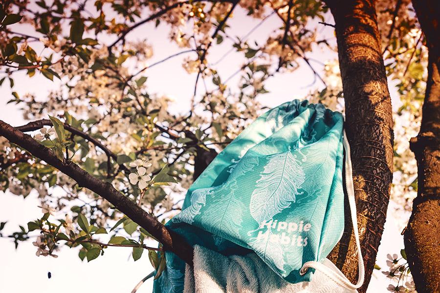 Hippie Habits – Minty Wings – plecak, worek –  joga, yoga – fitness – sportswear