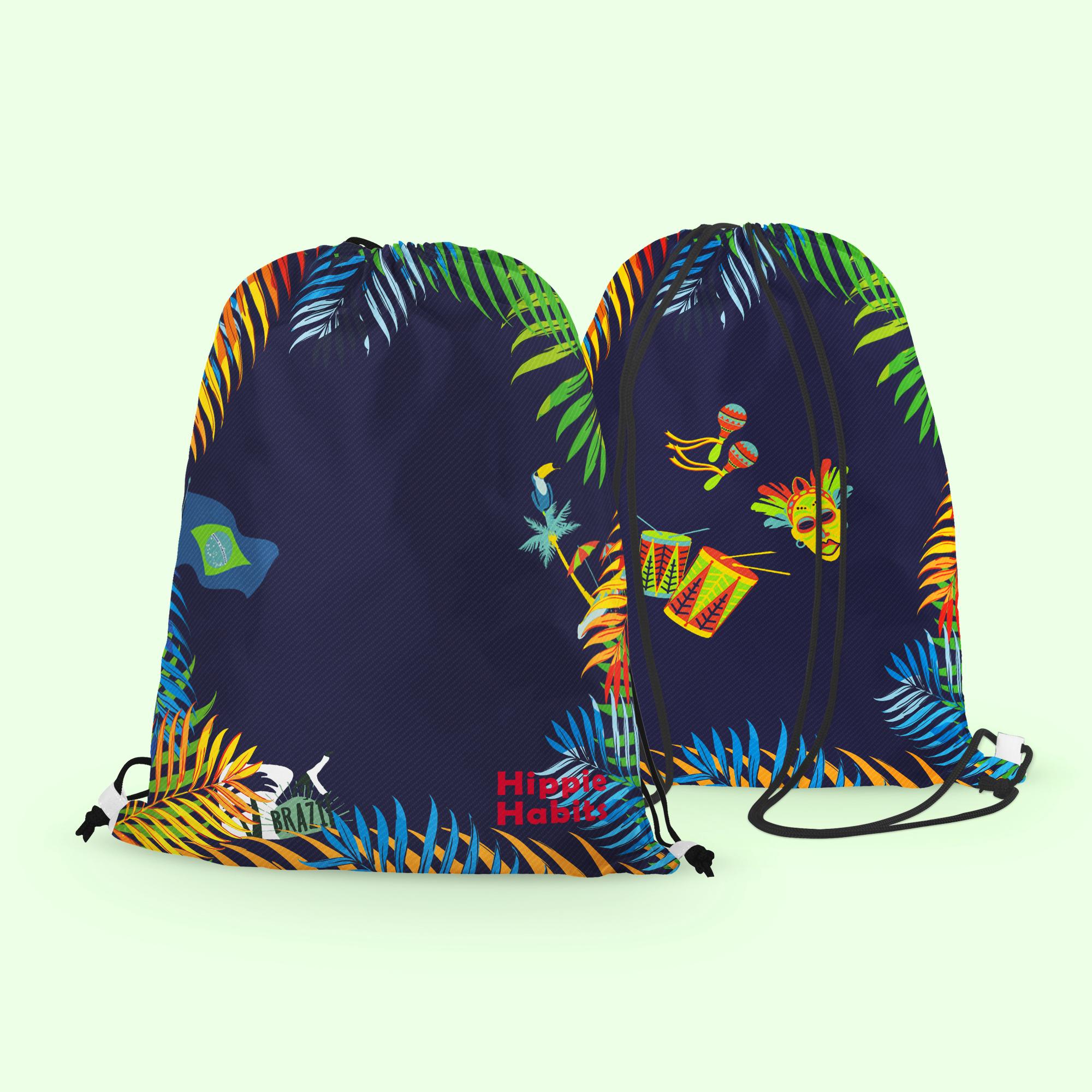 Hippie Habits – Carnival – plecak, worek –  joga, yoga – fitness – sportswear
