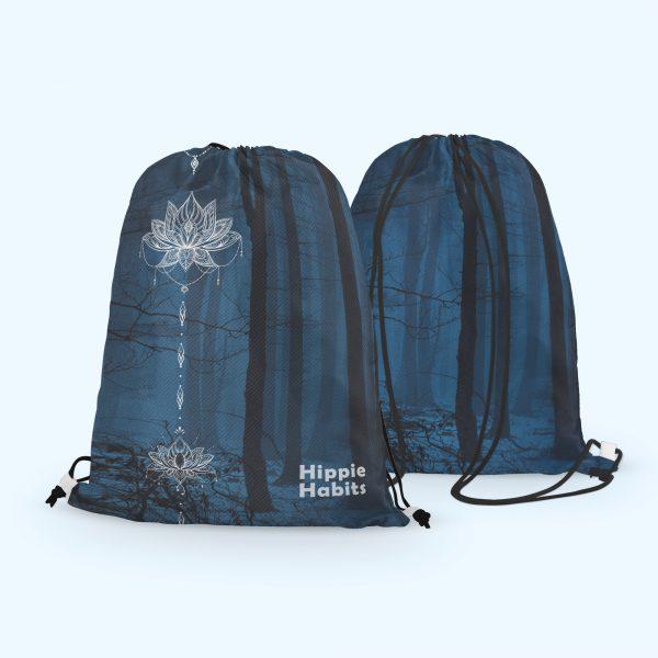 Hippie Habits – Magic Forest – plecak, worek –  joga, yoga – fitness – sportswear