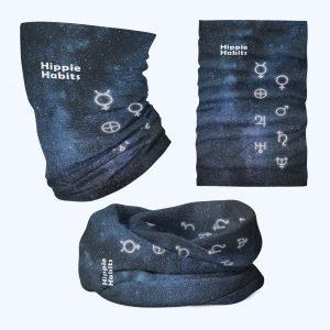 Hippie Habits - space tripping - chusta wielofunkcyjna - komin - joga, yoga - fitness - sportswear