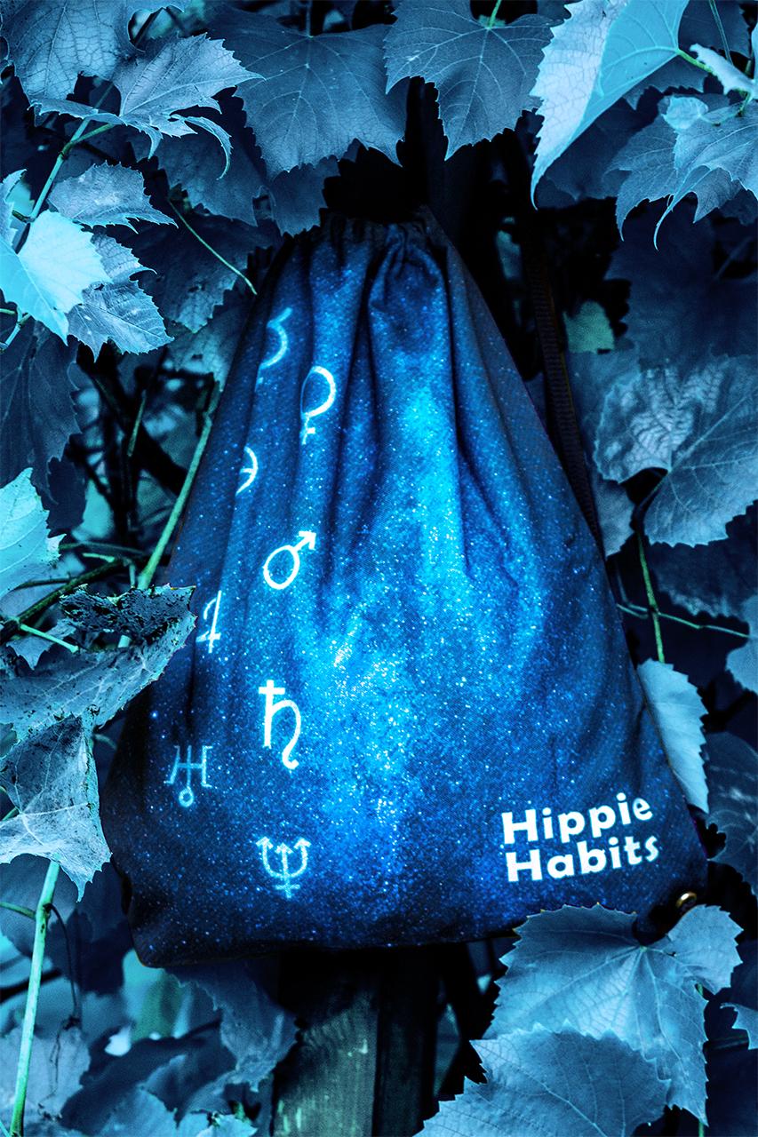 Hippie Habits – Space Tripping – plecak, worek –  joga, yoga – fitness – sportswear