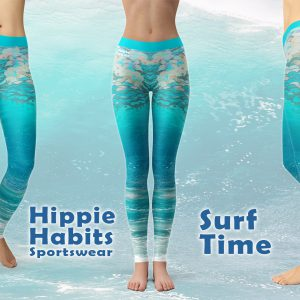 Surf Time - Hippie Habits - Mint Wings - joga, yoga - fitness - sportswear