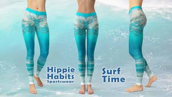 Surf Time – Hippie Habits – Mint Wings –  joga, yoga – fitness – sportswear