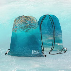 Hippie Habits - Surf Time - plecak, worek - joga, yoga - fitness - sportswear