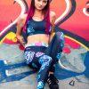 Hippie Habits - Candy Skull - joga, yoga - fitness - sportswear