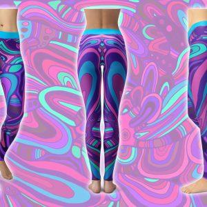 Psychodelicious - Hippie Habits - Mint Wings - joga, yoga - fitness - sportswear