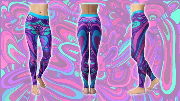 Psychodelicious – Hippie Habits – Mint Wings – joga, yoga – fitness – sportswear