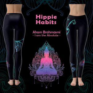 Aham Brahmasmi - Hippie Habits - joga, yoga - fitness - sportswear
