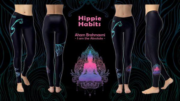 Aham Brahmasmi – Hippie Habits – joga, yoga – fitness – sportswear